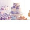 Winter-white-wedding-cake-light-lavendar-ribbon.square