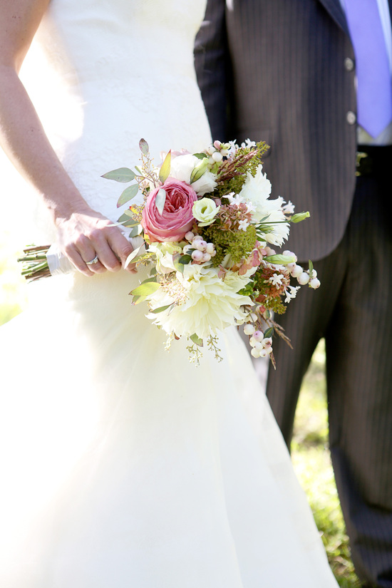 Rustic Bridal Flowers