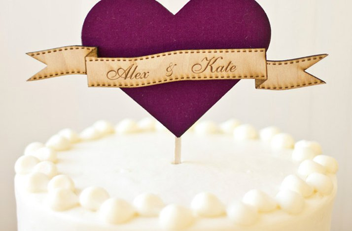 Purple-wedding-cake-topper-white-wedding-cake.full