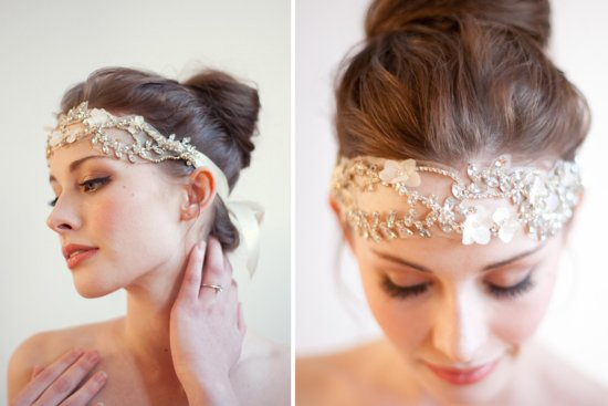 Stunning wedding veils and headpieces by Serephine 1