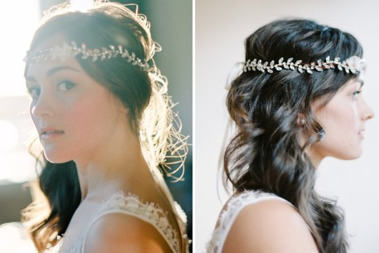 Stunning wedding veils and headpieces by Serephine