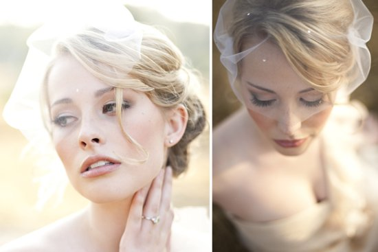 Stunning wedding veils and headpieces by Serephine 6