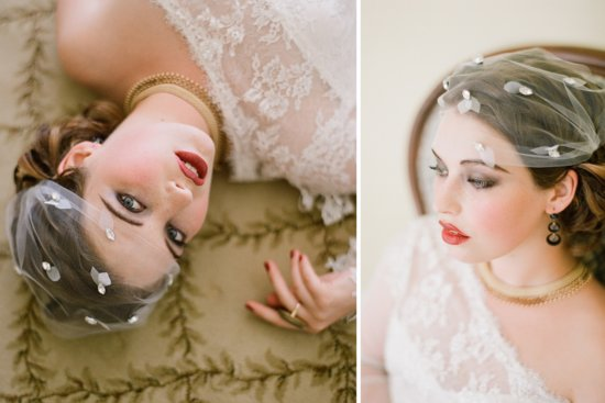 Stunning wedding veils and headpieces by Serephine 7
