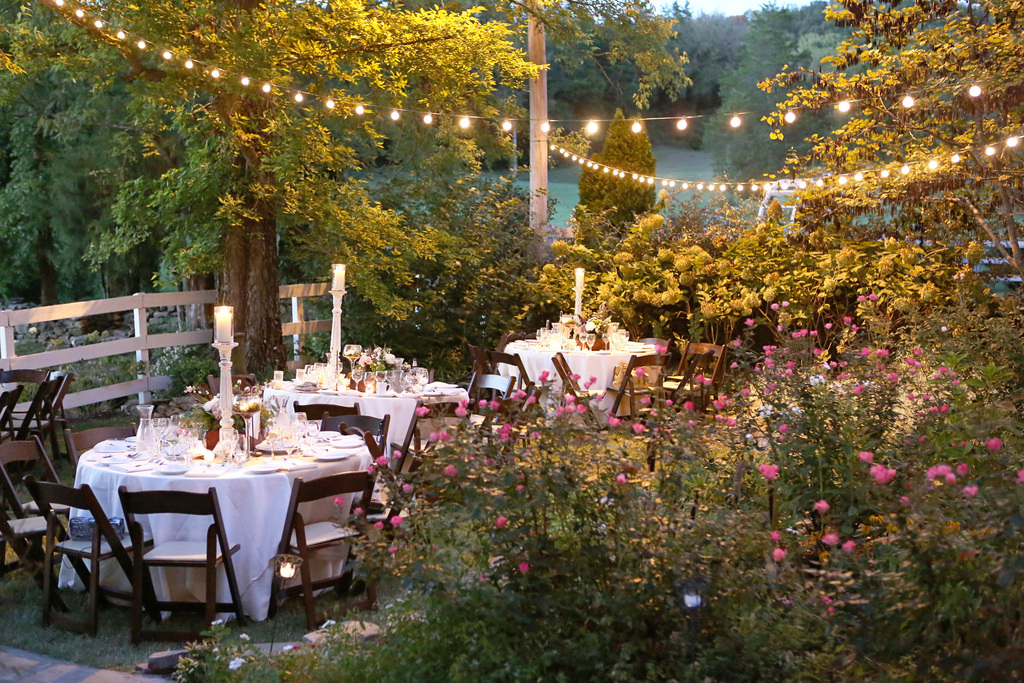 Cozy outdoor venue