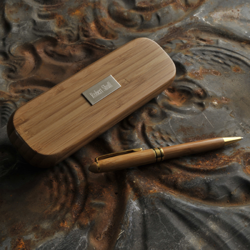 photo of Personalized Bamboo Pen Set