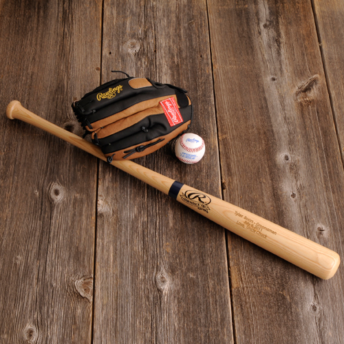 Engraved Rawlings 'Big Stick' Baseball Bat