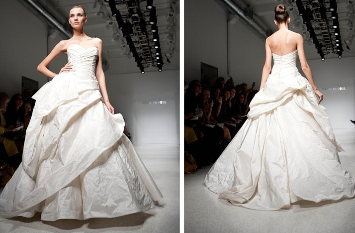 sweetheart ballgown wedding dress 2012 bridal gowns christos
