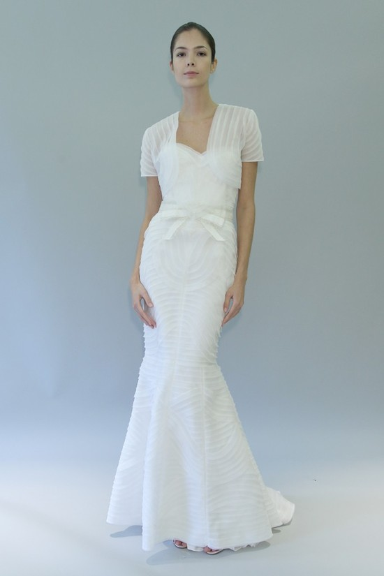 carolina herrera wedding dress fall 2012 bridal gowns 11