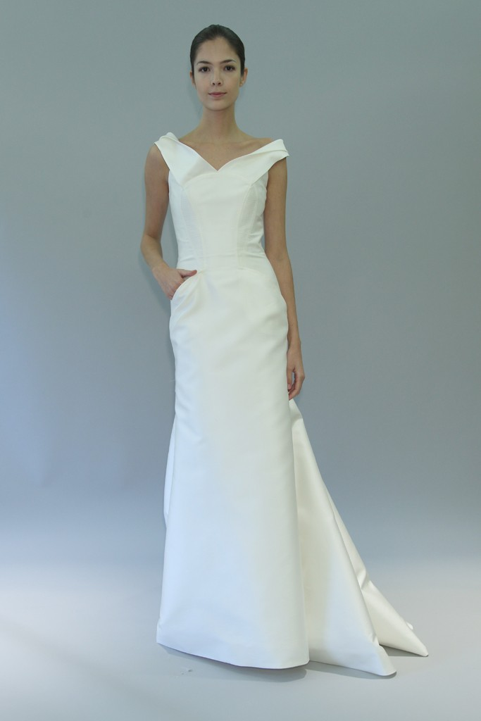 carolina herrera wedding dress fall 2012 bridal gowns 5 With carolina herrera wedding dress