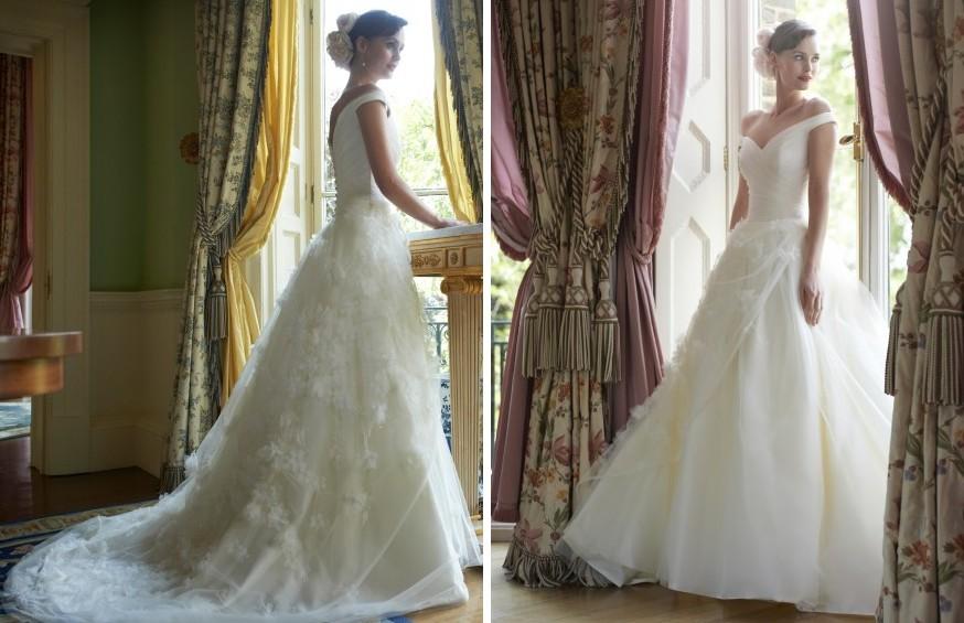 2014 Wedding Dress Stephanie Allin Bridal Daisy