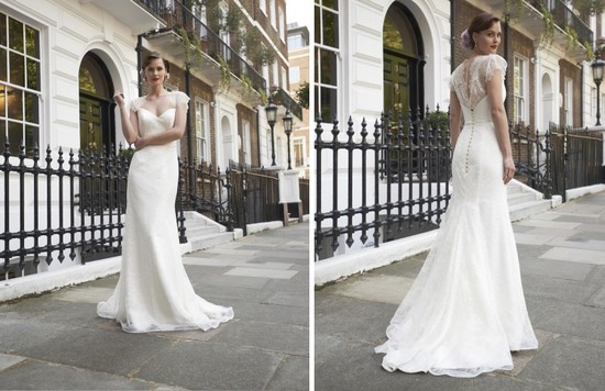 2014 wedding dress Stephanie Allin bridal Freya