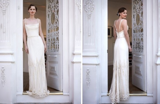 2014 wedding dress Stephanie Allin bridal Paris