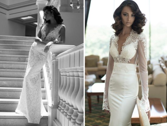 Daring new wedding dress by Berta Bridal Fall 2013
