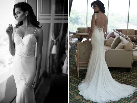 Daring new wedding dress by Berta Bridal Fall 2013 2