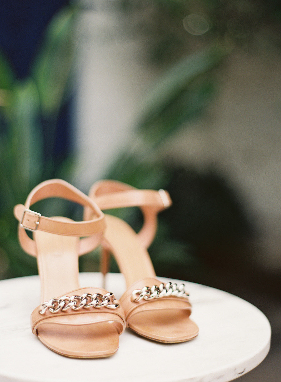 Rose-gold-patent-leather-wedding-shoes-with-silver-details.full