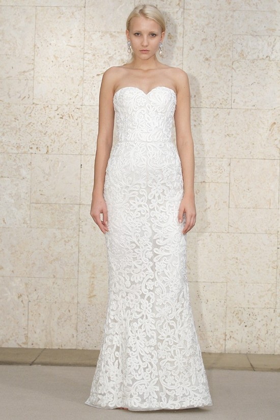oscar de la renta wedding dress spring 2012 bridal gowns 3