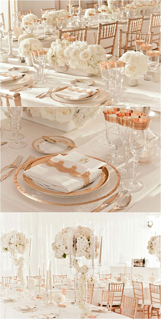 photo of Rose Gold Wedding Inspiration