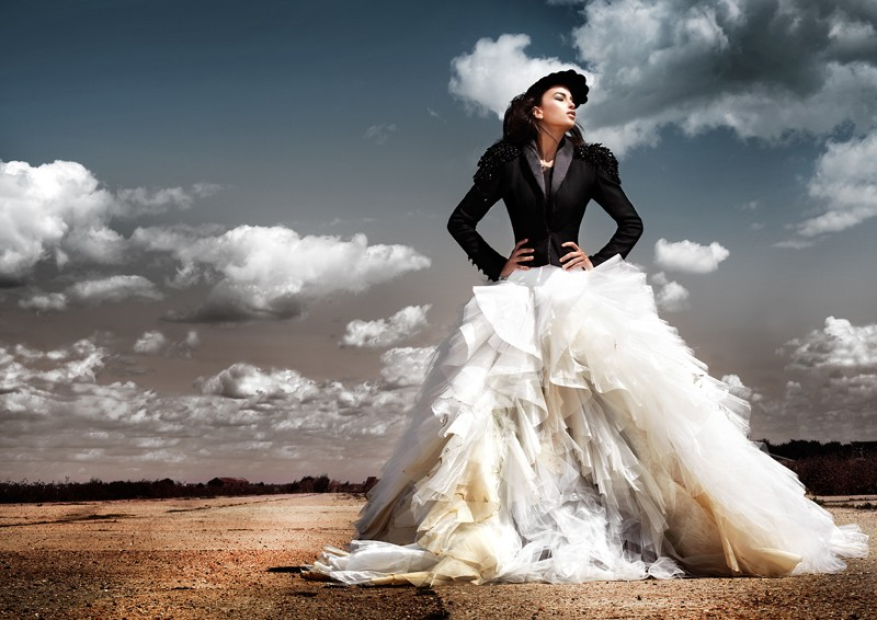 Wedding Dresses Edgy 7