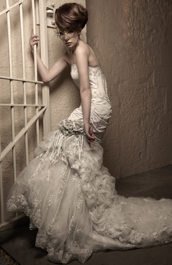 photo of inspiring wedding dresses 2012 bridal gown barryjeff 5