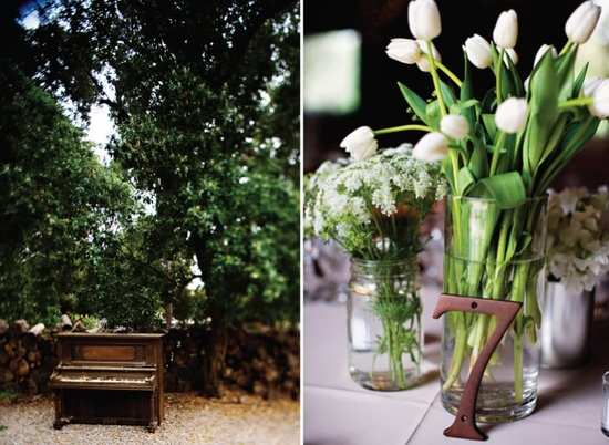 photo of Five Table Number Ideas for Your Homespun Chic Wedding