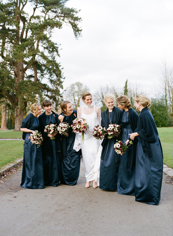 Winter Teal Wedding