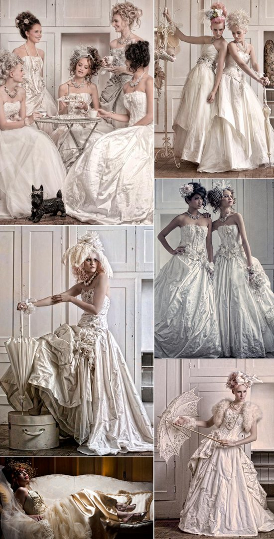 photo of 2012 Wedding Dresses: Vintage Opulence by Terry Fox