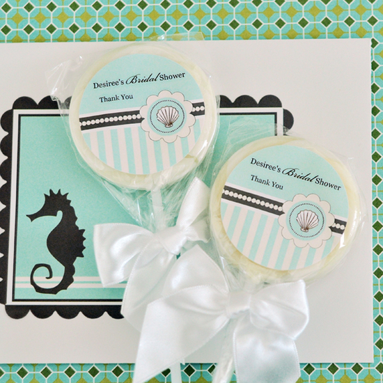 Beach Party Lollipop Favors 2