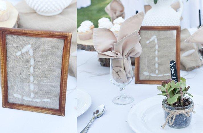 Unique-wedding-reception-table-number-ideas-stitching-burlap.full