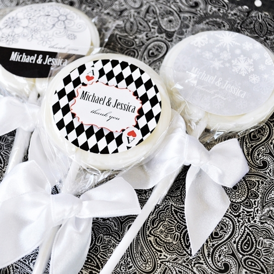 Elite Design Lollipop Favors