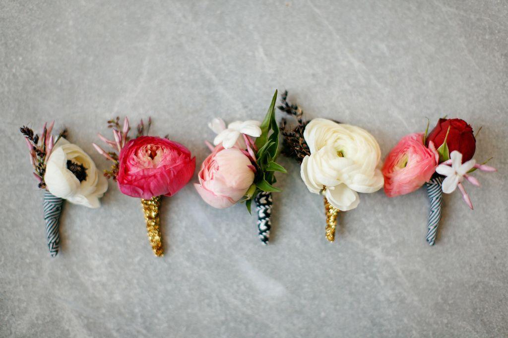 Vintage-modern-wedding-boutonnieres-anemones-ranunculus.full
