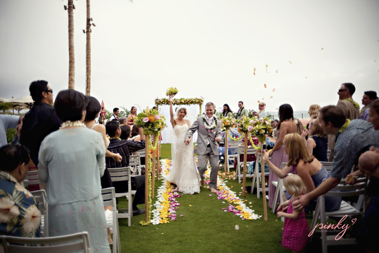 photo of The Royal Hawaiian Wedding