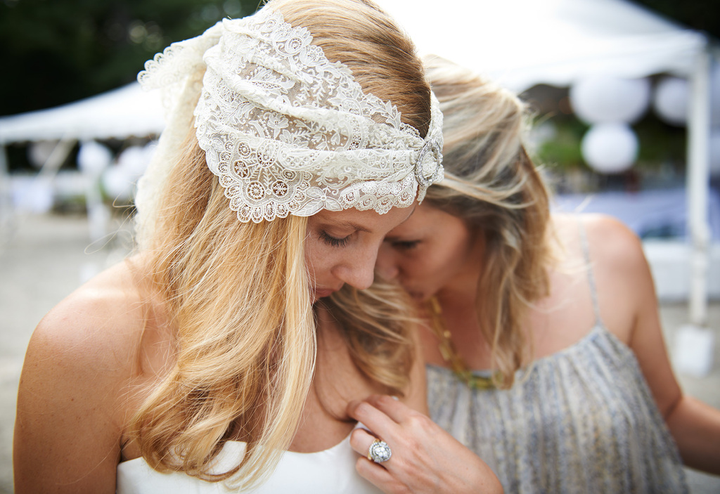 Mieke Ten Haves celebrity wedding in New England