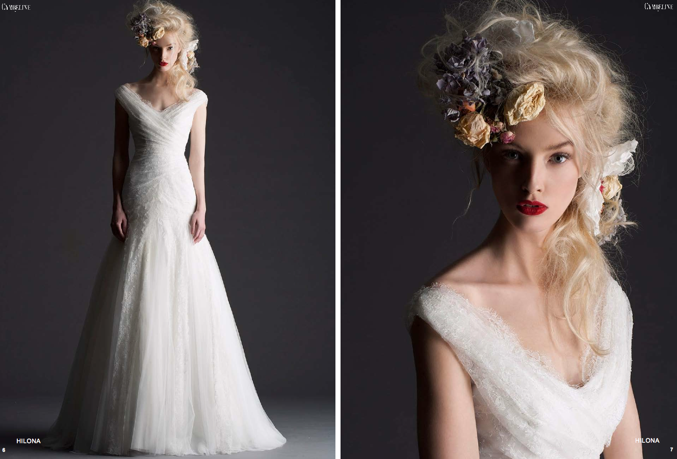 Cymbeline paris bridal 2014 wedding dress 1 for Wedding dress in paris