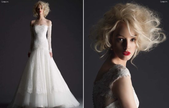 Cymbeline Paris wedding dress 2014 bridal preview lookbook 2