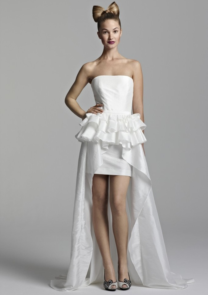 Short Wedding Dress Olga 2012 bridal gowns