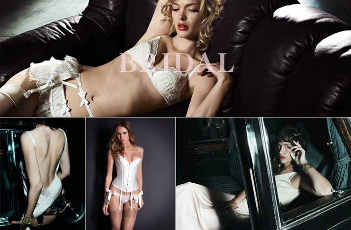 agent provacator wedding lingerie sultry old hollywood glam