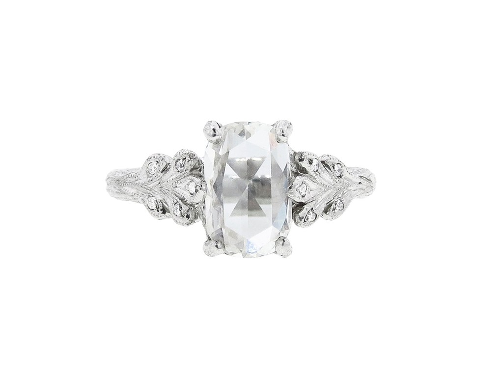 Rose-cut-oval-diamond-engagement-ring-by-cathy-waterman.full