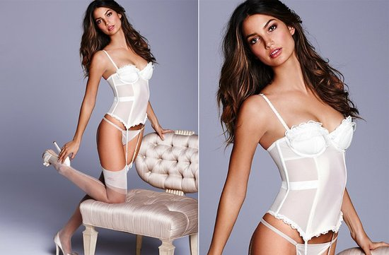 victorias secret bridal lingerie corset panties