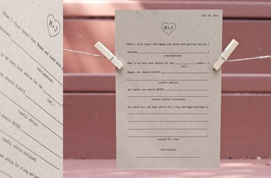 wedding guest book alternatives 1
