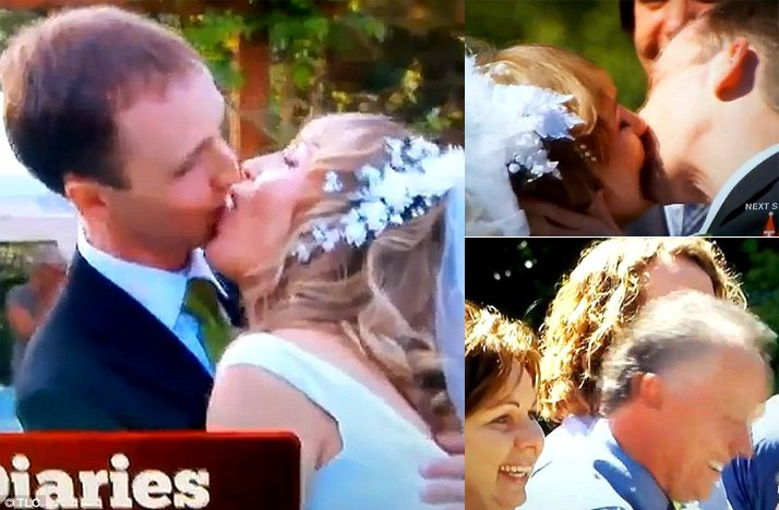 Most-awkward-wedding-moments-first-kiss-at-ceremony.full