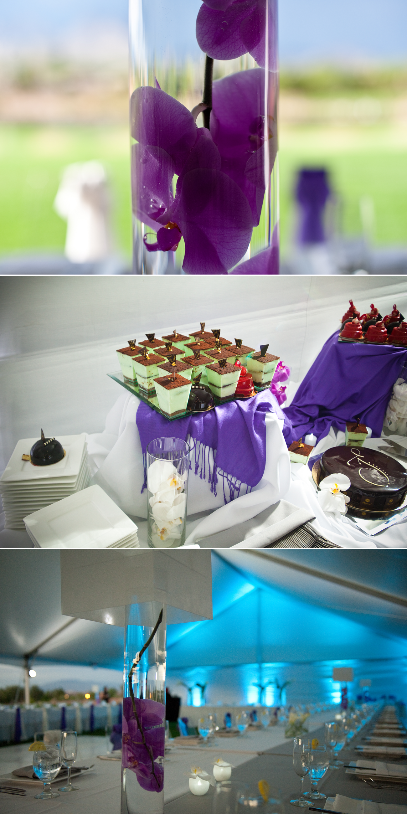 Purple Orchid Wedding Viewing Gallery