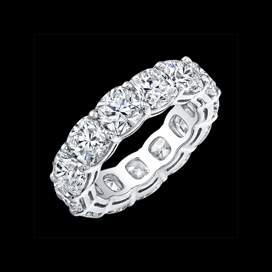 Eternity Bands - Cushion Cuts