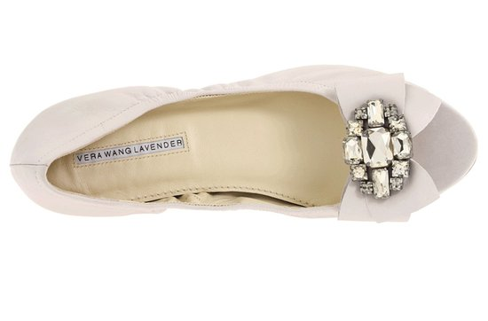 vera wang wedding shoes ballet flats