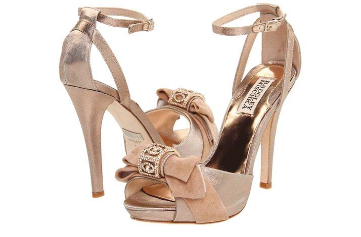 8d8dc6e0bc8c badgley mischka wedding shoes blush suede platforms