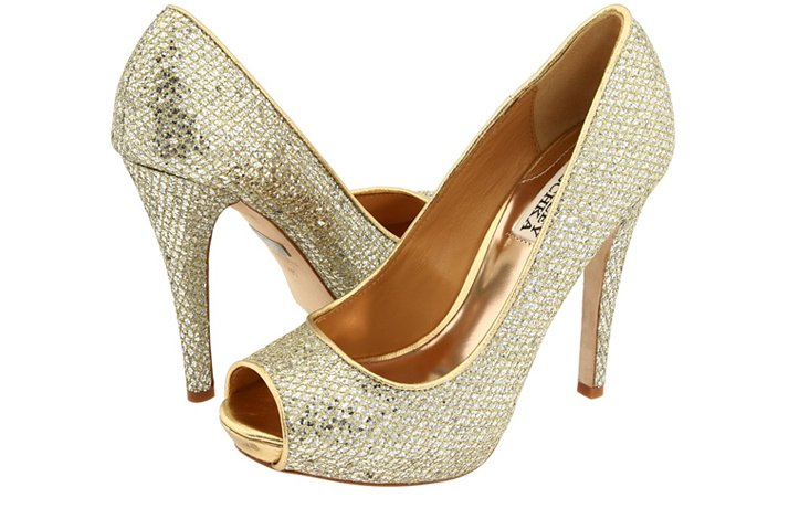 Silver Platform Shoes For Wedding 007 - Silver Platform Shoes For Wedding