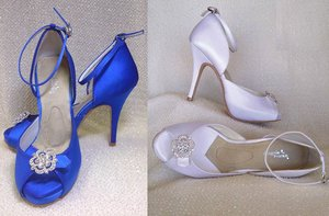 photo of starletta wedding shoes dyeable