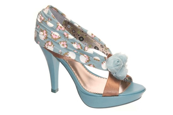 photo of blue wedding shoes poetic license apple of my eye