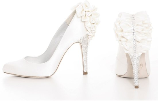 white wedding shoes bournes kirsten