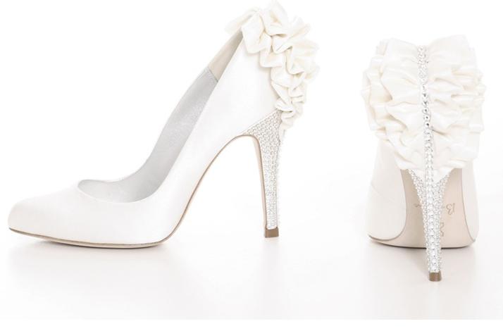 White Wedding Shoes Bournes Kirsten