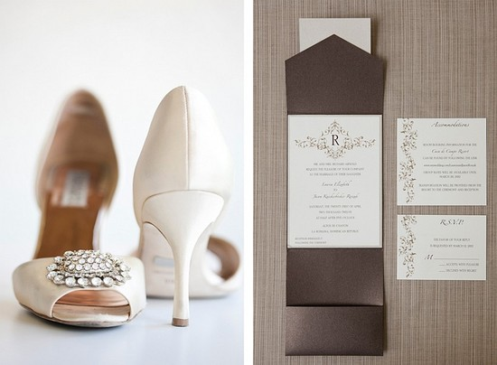 Destination wedding in the Dominican Republic Shoes and Invites
